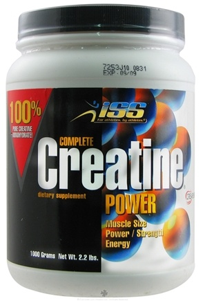 DROPPED: ISS Research - Complete Creatine Power 1000 g. - 2.2 lbs.