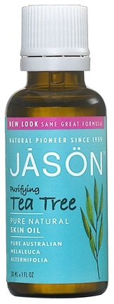 DROPPED: Jason Natural Products - Tea Tree Oil 100% - 1 oz. CLEARANCE PRICED