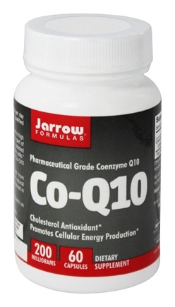 Jarrow Formulas - Co-Q10 200 mg. - 60 Capsules