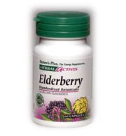DROPPED: Nature's Plus - Elderberry 110 mg. - 60 Capsules