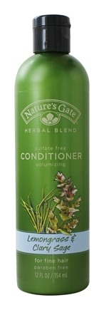 Nature's Gate - Conditioner Organics Herbal Blend Volumizing Lemongrass & Clary Sage - 12 oz.