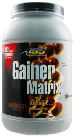 DROPPED: ISS Research - Gainer Matrix Chocolate - 4 lbs.
