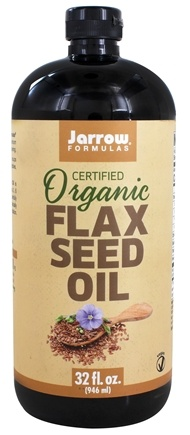 Zoom View - Flax Seed Oil Fresh Pressed Organic