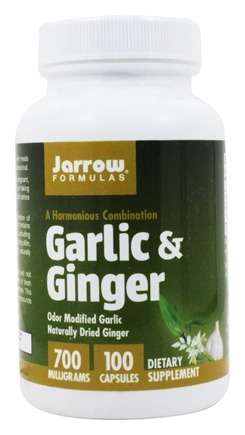 Jarrow Formulas - Garlic & Ginger - 100 Capsules