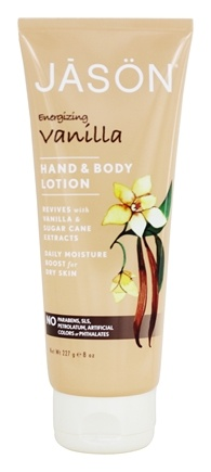DROPPED: JASON Natural Products - Hand & Body Lotion Vanilla - 8 oz.