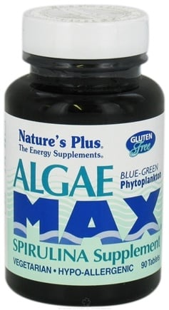 Zoom View - Algae Max Spirulina Supplement