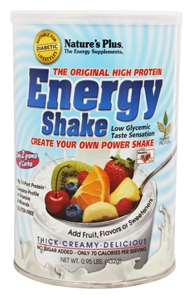 Nature's Plus - Energy The Universal Protein Shake - 0.95 lbs.