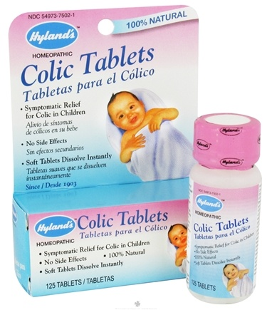 DROPPED: Hylands - Colic Tablets - 125 Tablets
