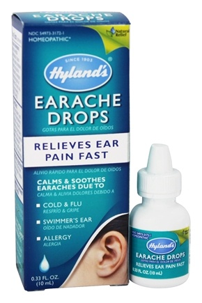 DROPPED: Hylands - Earache Drops Adult/Child - 0.33 oz.