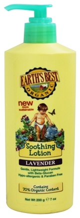DROPPED: Earth's Best - Organic Baby Everyday Lotion Lavender by Jason Natural Products - 7 oz.