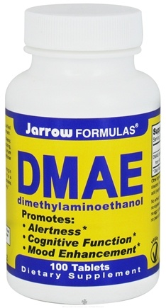 DROPPED: Jarrow Formulas - DMAE - 100 Tablets CLEARANCE PRICED