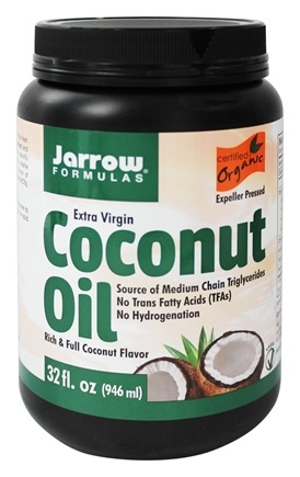 Jarrow Formulas - Extra Virgin Organic Coconut Oil - 32 fl. oz.
