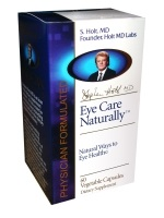 DROPPED: Nature's Benefit - Eye Care Naturally - 60 Vegetarian Capsules