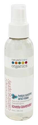 Nature's Baby Organics - Aromatherapy Calming Spray Lovely Lavender - 4 oz.
