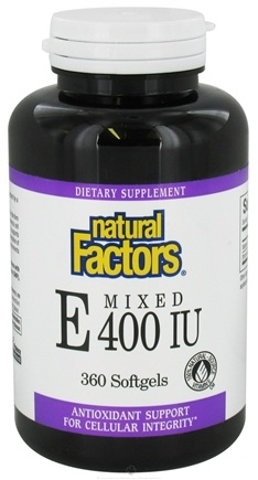 Zoom View - Vitamin E Mixed 100% Natural Source