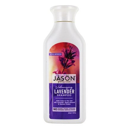 JASON Natural Products - Lavender Shampoo Hair Strengthening - 16 oz.