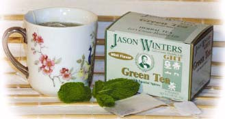 DROPPED: Jason Winters - Herbal Green Tea - 20 Tea Bags