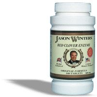 DROPPED: Jason Winters - Red Clover Enzyme - 100 Tablets