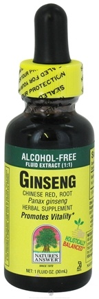 Zoom View - Ginseng Chinese Red Root Alcohol Free
