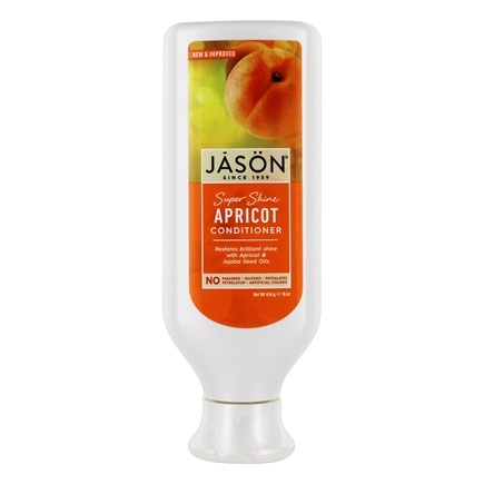 Jason Natural Products - Natural Apricot Conditioner Super Shine - 16 oz.