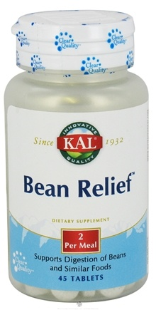DROPPED: Kal - Bean Relief - 45 Tablets