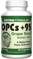 DROPPED: Jarrow Formulas - OPCs + 95 Grape Seed Extract 100mg - 25 Capsules