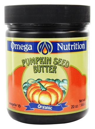 DROPPED: Omega Nutrition - Organic Pumpkin Seed Butter - 20 oz.
