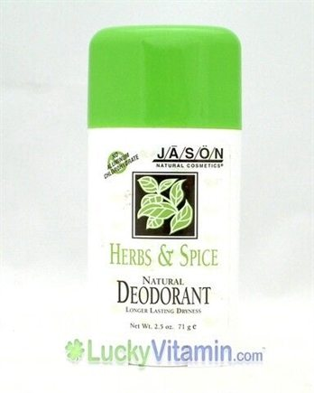DROPPED: Jason Natural Products - Herb & Spice Natural Deodorant Stick - 2.5 oz.
