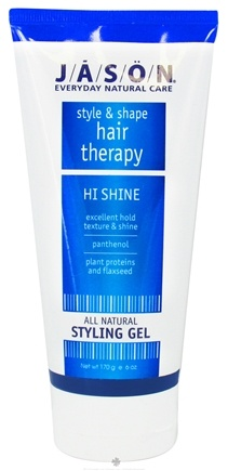 Jason Natural Products - Hi-Shine Styling Gel - 6 oz.