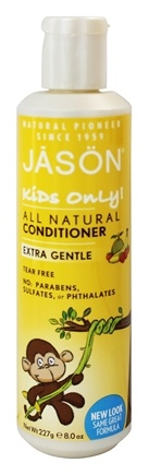 JASON Natural Products - Kids Only Extra Gentle Conditioner - 8 oz.