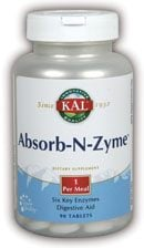 DROPPED: Kal - Absorb-N-Zyme - 90 Tablets