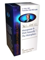 DROPPED: Nature's Benefit - Menopause & PMS Naturally:The Menoplan - 60 Vegetarian Capsules