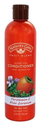 Nature's Gate - Conditioner Organics Fruit Blend Persimmon & Rose Geranium - 12 oz.