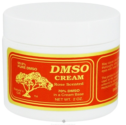 DROPPED: Nature's Gift DMSO - Cream Rose Scented - 2 oz.