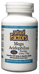 Zoom View - Mega Acidophilus Powder with FOS Non-Dairy