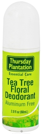DROPPED: Thursday Plantation - Tea Tree Floral Deodorant - 2 oz. CLEARANCE PRICED