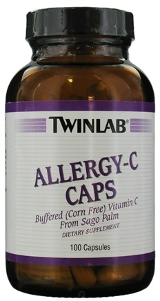 DROPPED: Twinlab - Allergy C Caps - 100 Capsules