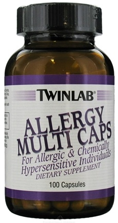 DROPPED: Twinlab - Allergy Multi Caps - 100 Capsules CLEARANCE PRICED