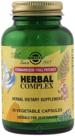 DROPPED: Solgar - Herbal Complex - 50 Vegetarian Capsules Formerly Herbal Immune Complex