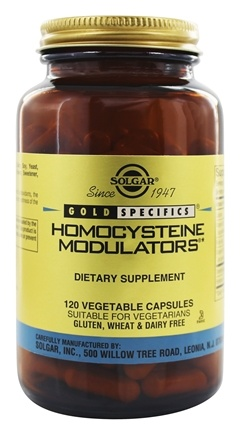 Solgar - Gold Specifics Homocysteine Modulators - 120 Vegetarian Capsules
