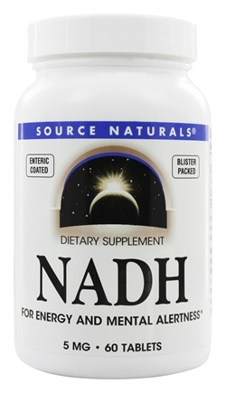 Source Naturals - NADH 5 mg. - 60 Tablets