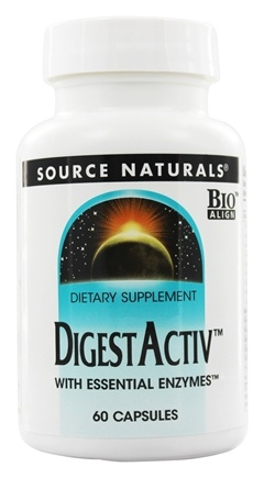 DROPPED: Source Naturals - DigestActiv - 60 Capsules