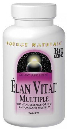 DROPPED: Source Naturals - Elan Vital Multiple - 30 Tablets