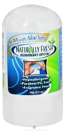 DROPPED: Naturally Fresh - Deodorant Crystal Trial and Travel MiniStick with Aloe Vera - 2.1 oz. CLEARANCE PRICED