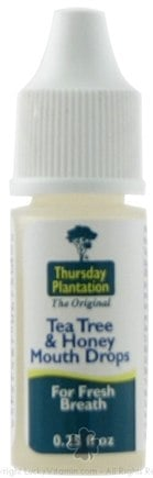 DROPPED: Thursday Plantation - Tea Tree Mouth Drops - 0.25 oz. CLEARANCE PRICED