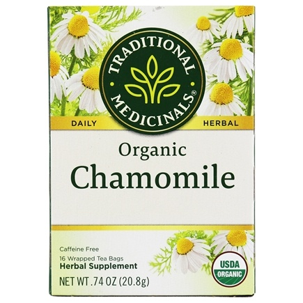 Traditional Medicinals - Organic Chamomile Tea - 16 Tea Bags