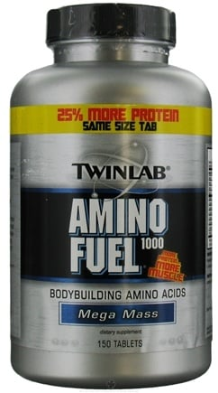 DROPPED: Twinlab - Amino Fuel 1000 - 150 Tablets