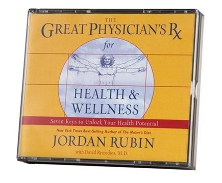 DROPPED: Great Physician's RX - The Great Physician's Rx for Health & Wellness Audio Book - Audio CD
