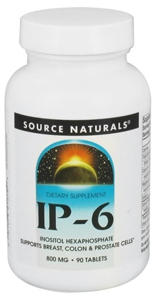 DROPPED: Source Naturals - IP-6 800 mg. - 90 Tablets CLEARANCE PRICED