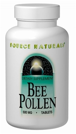 DROPPED: Source Naturals - Bee Pollen 500 mg. - 250 Tablets CLEARANCE PRICED
